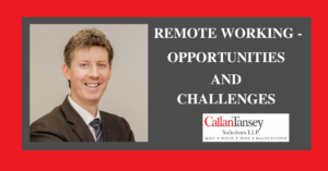 Brian Gill talks about Remote Working Opportunies & Threats