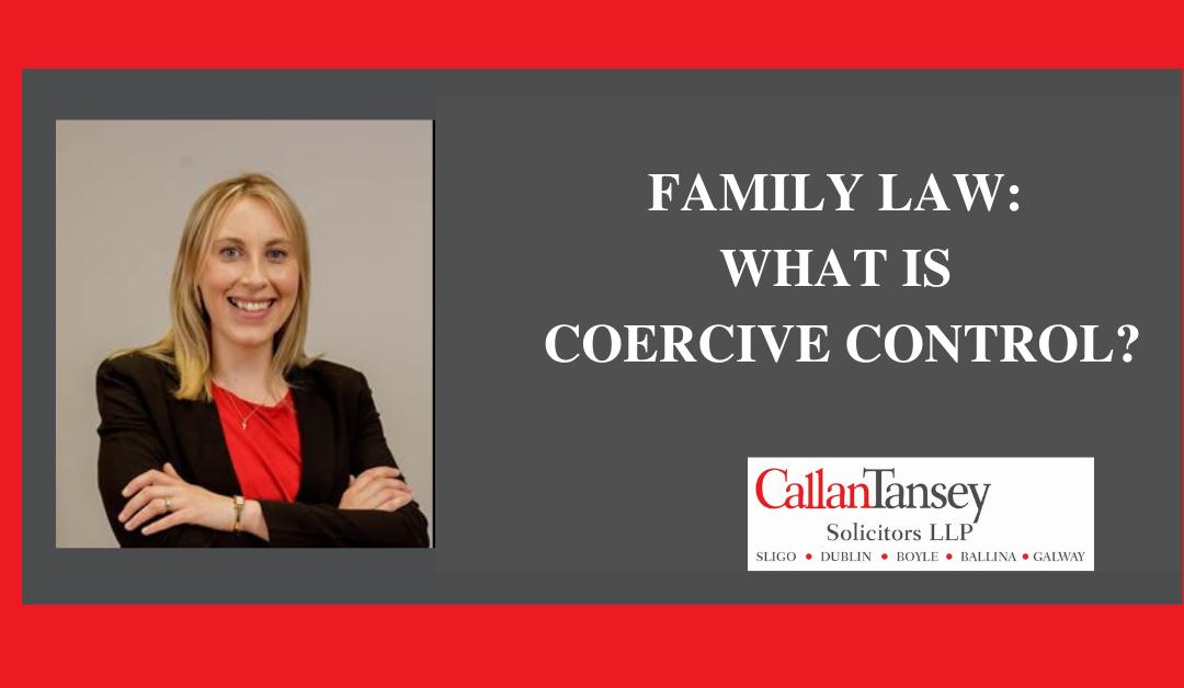 CT Mary Mc Blogpost Coercive Control