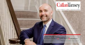 John V Kelly, Joint Managing Partner, Callan Tansey Solicitors