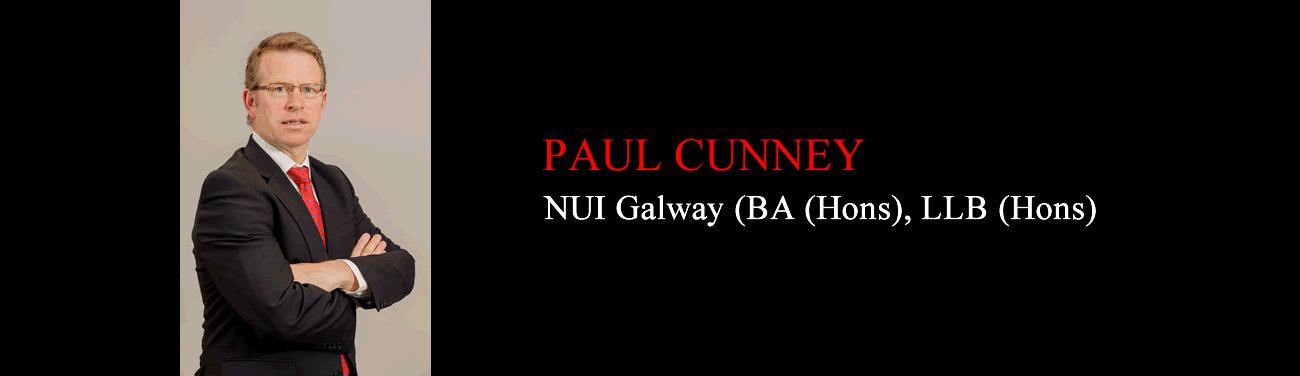 Paul Cunney, Solicitor, Callan Tansey