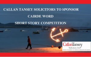 Callan Tansey sponsor Cairde Word Short Story competition