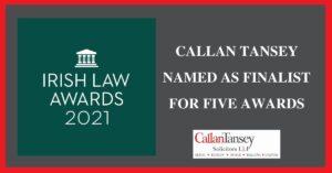 Law Awards 2021 Finalist